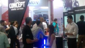Concept Smoke Screen's stand at ISC Brasil 2016